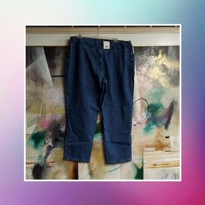 Lee Denim Jeans. Tapeted, Relaxed Fit, 24W